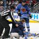 Ondrej Pavelec Collapses On Ice