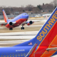 Southwest Airlines On A High