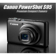 Canon S95 flaunts its Amazing Sensor