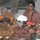 Women all decked up, keep fast on Karwa Chauth