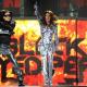 Black Eyed Peas performing (Fergie, Black Eyed Peas)