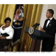President Obama's su-PER-flu-us Experience at Kennedy honors
