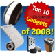 Top 10 Gadgets for Christmas 2008