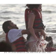 Dhoni and Sakshi were Spotted enjoying the Waves in Goa