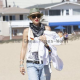 Gwen Stefani enjoys a family day in Newport Beach
