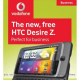 Vodafone Introduces HTC Desire Z at £35/Month